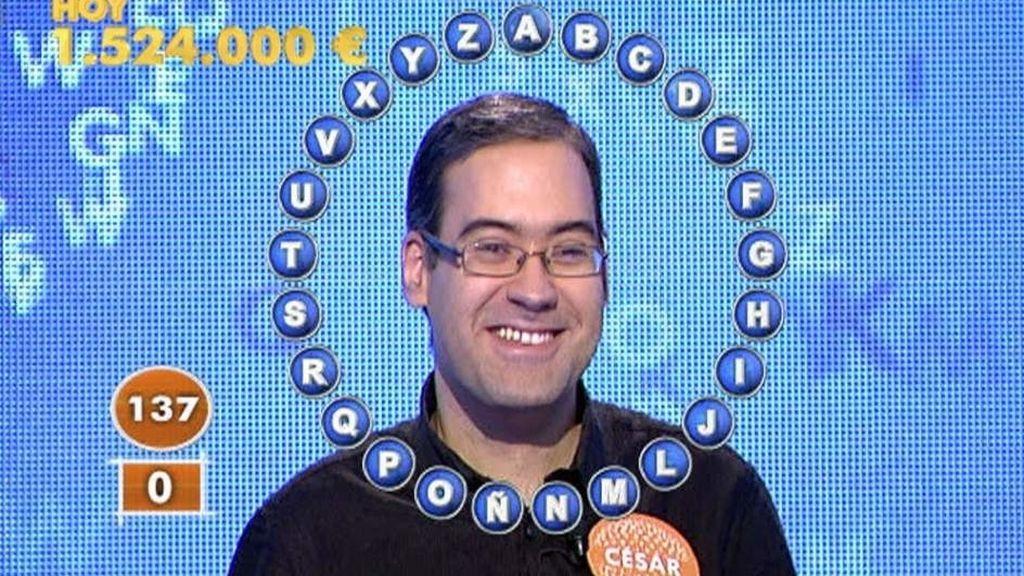 César Garrido, Pasapalabra