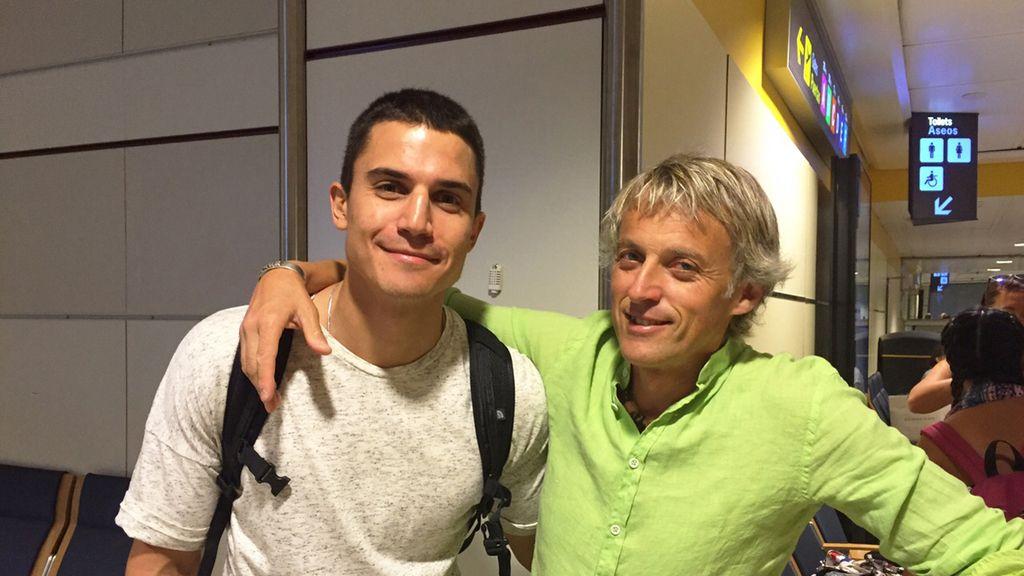 Álex González y Jesús Calleja
