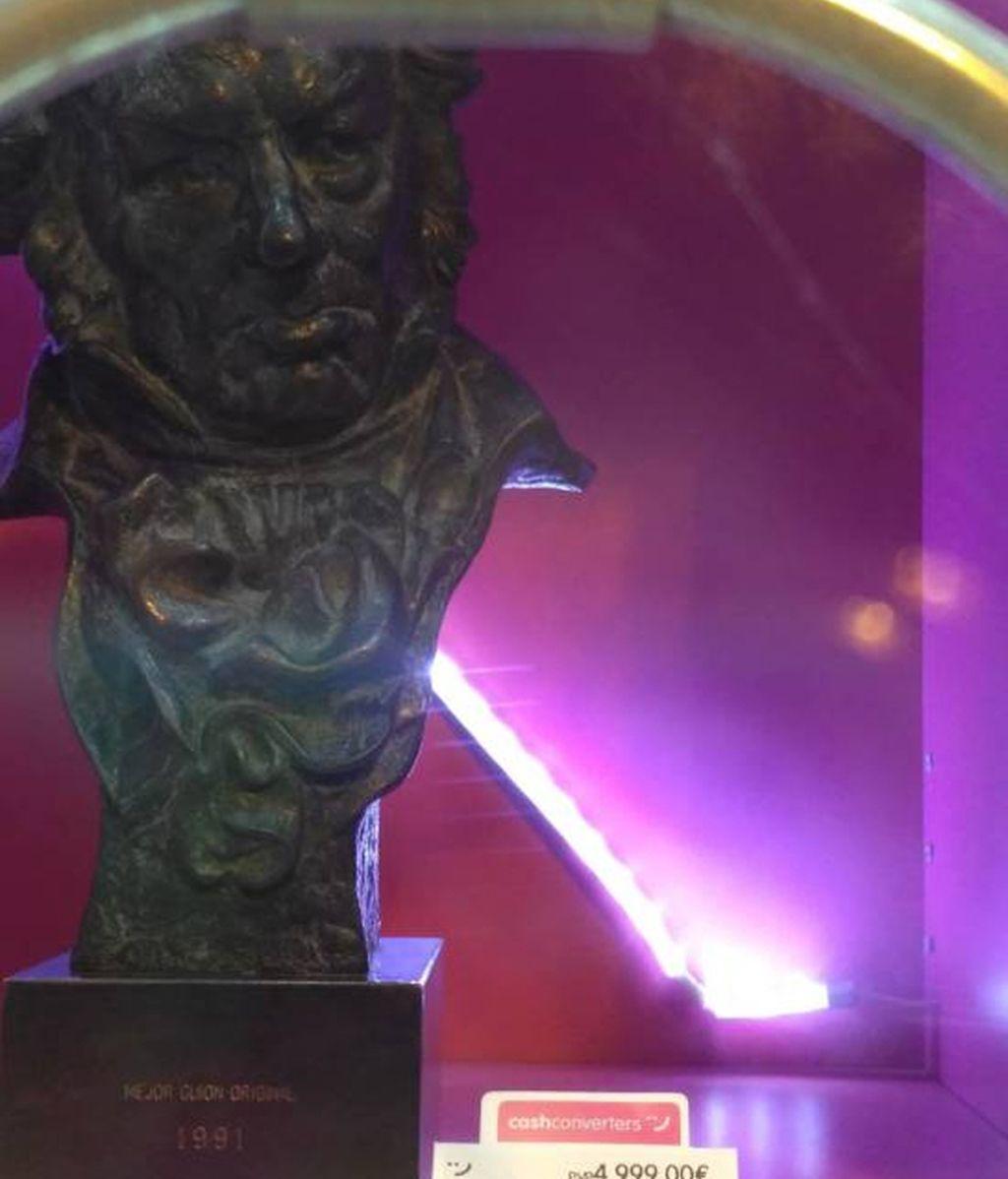 Goya al Mejor guion original de 1991 por 'Alas de mariposa', ganado en 1992 por los hermanos Bajo Ulloa
