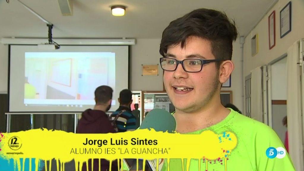 """Jorge Luis Sintes, protagonista de un corto contra el acoso: """"Un día no aguanté más"""""""