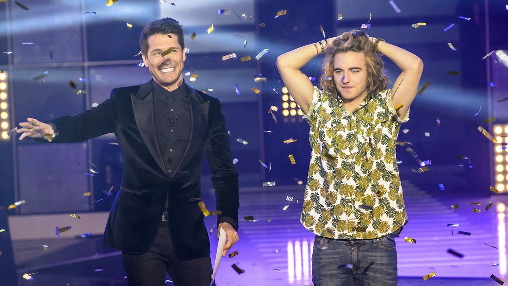 Manel Navarro gana en 'Objetivo Eurovisión'