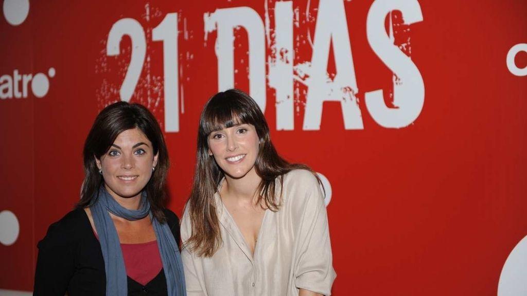 Adela Úcar y Samanta Villar