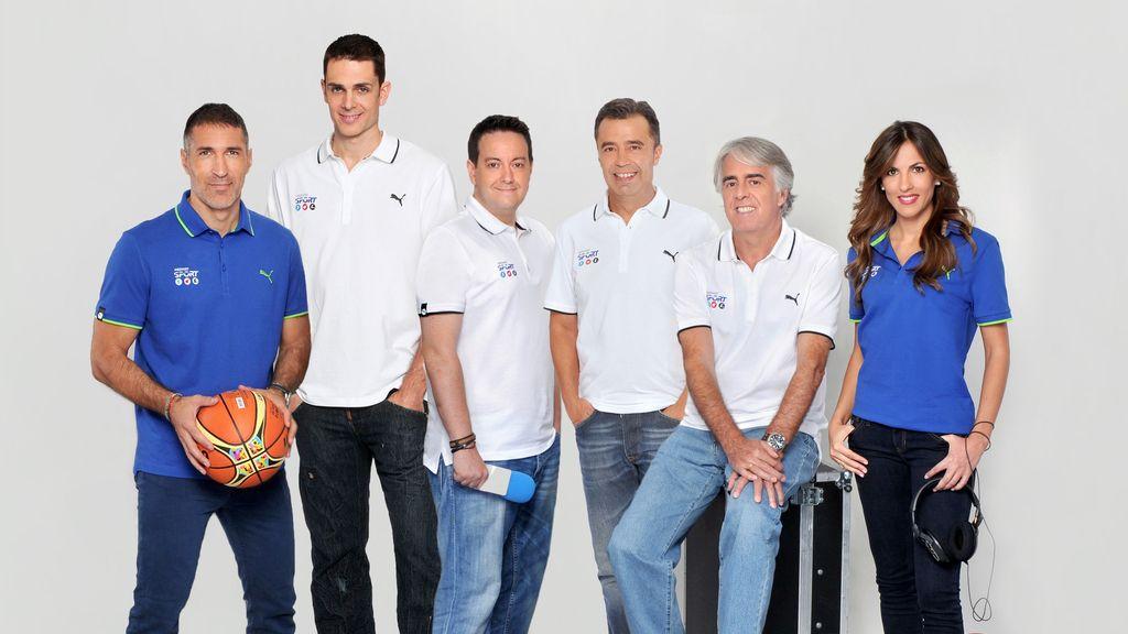 Narradores y comentaristas Mediaset FIBA 2014