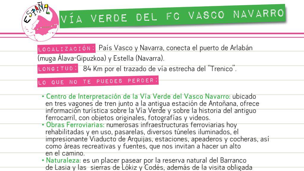 Vía Verde del FC Vasco Navarro