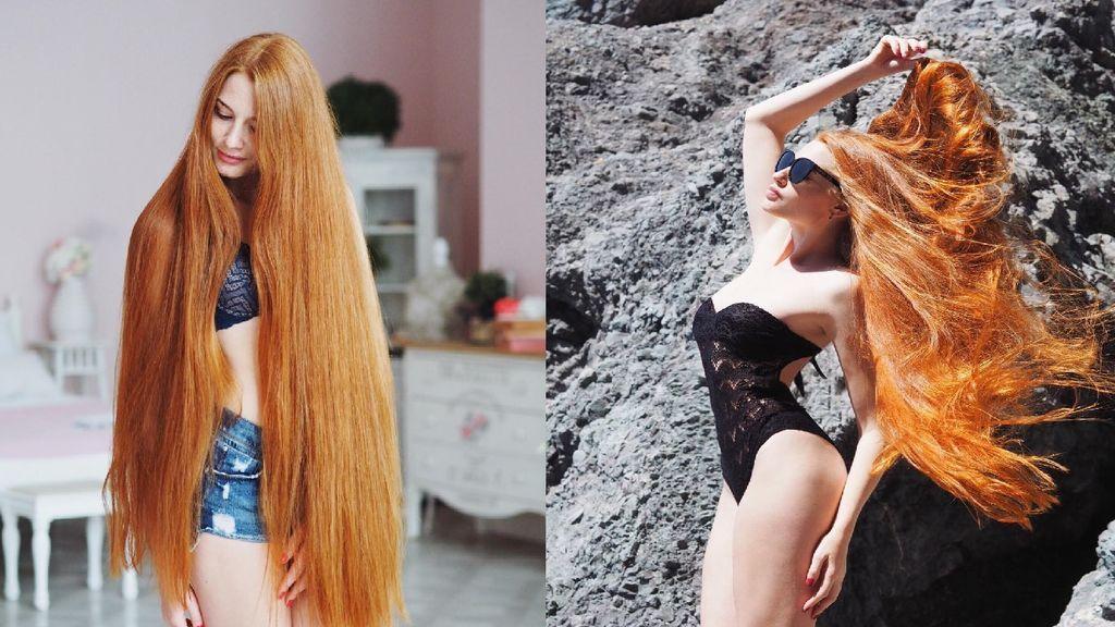La instagramer conocida como la 'Rapunzel pelirroja' sufrió alopecia con 18 años