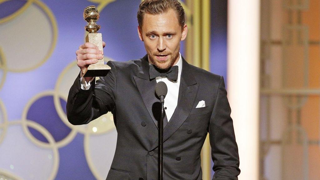 Globos de oro. Tom Hiddleston. El infiltrado