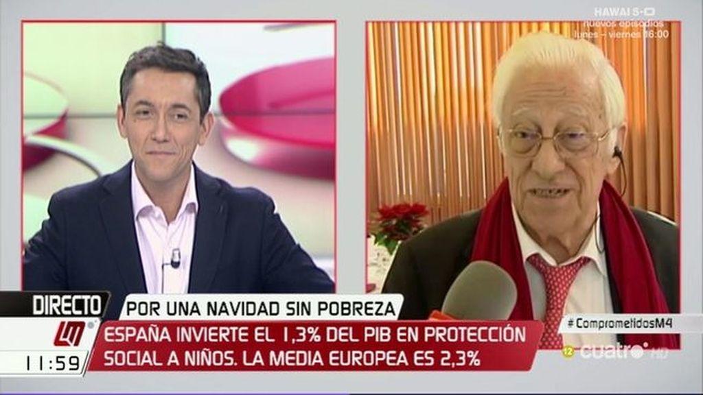 """Padre Ángel: """"La pobreza es responsabilidad de quien gobierna"""""""