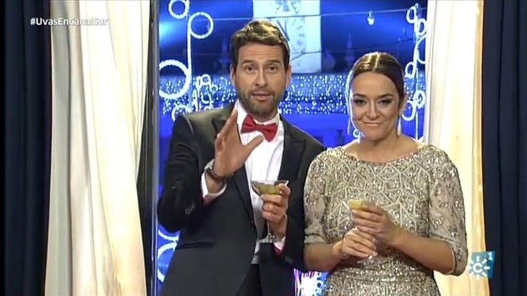Toñi Moreno presenta las campanadas de fin de año de 2016 en Canal Sur