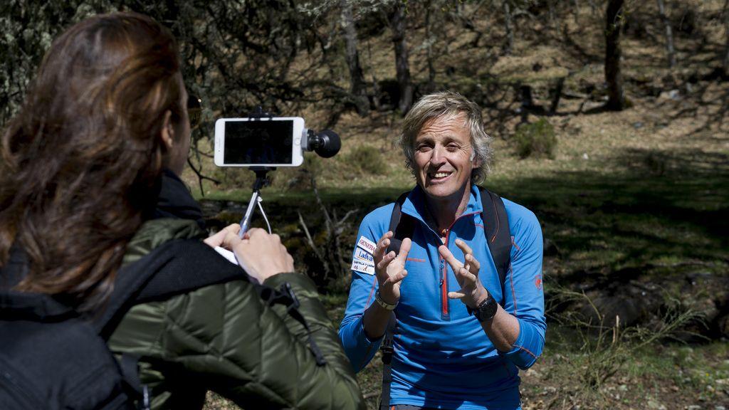 Periodistas de TV, famosos aventureros por un día con Jesús Calleja (7)