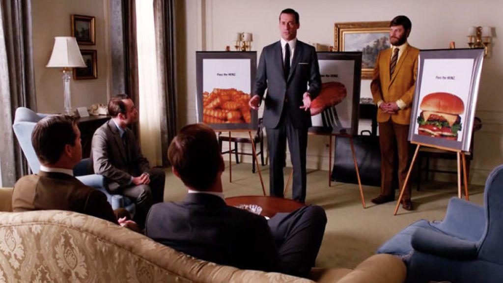 Heinz realiza la campaña 'Pásame el Heinz' ideada por Don Draper en 'Mad men'