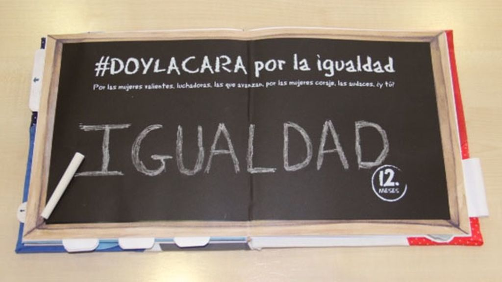 '#Doylacara por la igualdad' forma parte de nuestro libro