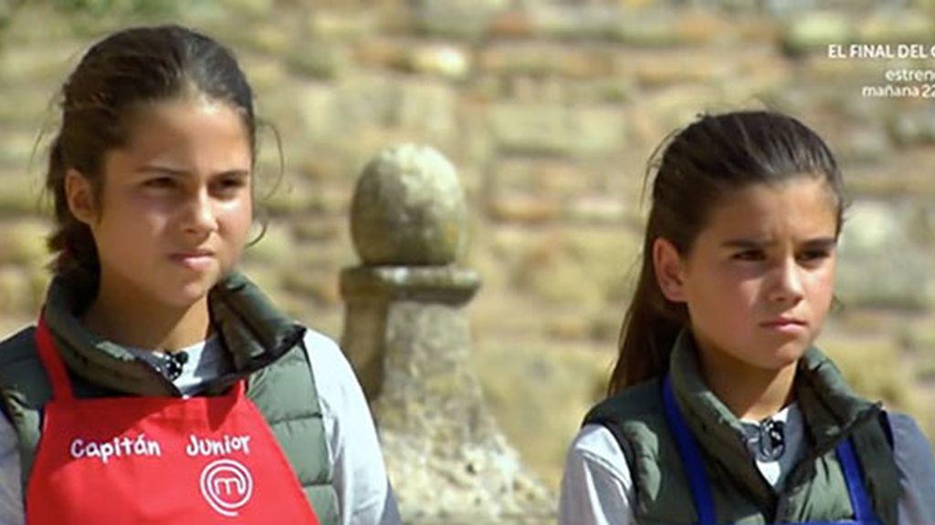 Paloma y Paula, concursantes de 'MasterChef junior 4' de TVE