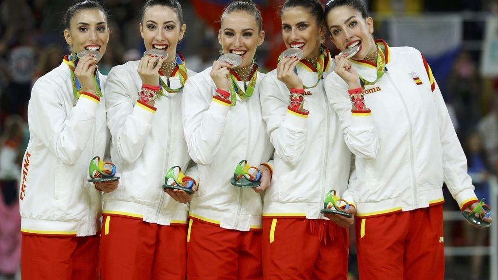 Equipo gimnasia rítmica Río 2016