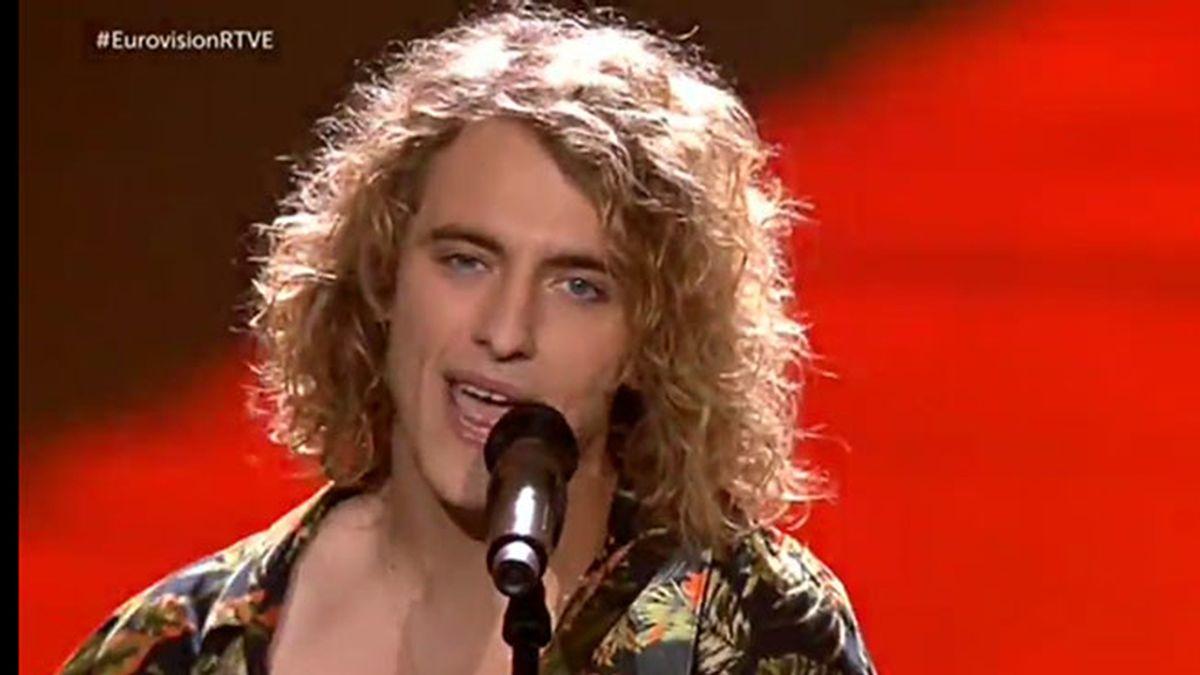 Manel Navarro. Final de Eurovisión
