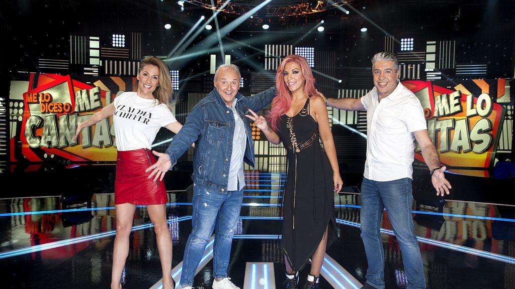Nagore Robles,Xavier Deltell, Rebeca Pous y Lupy forman el equipo de Cristina Rodríguez en 'Me lo dices o me lo cantas' en Telecinco