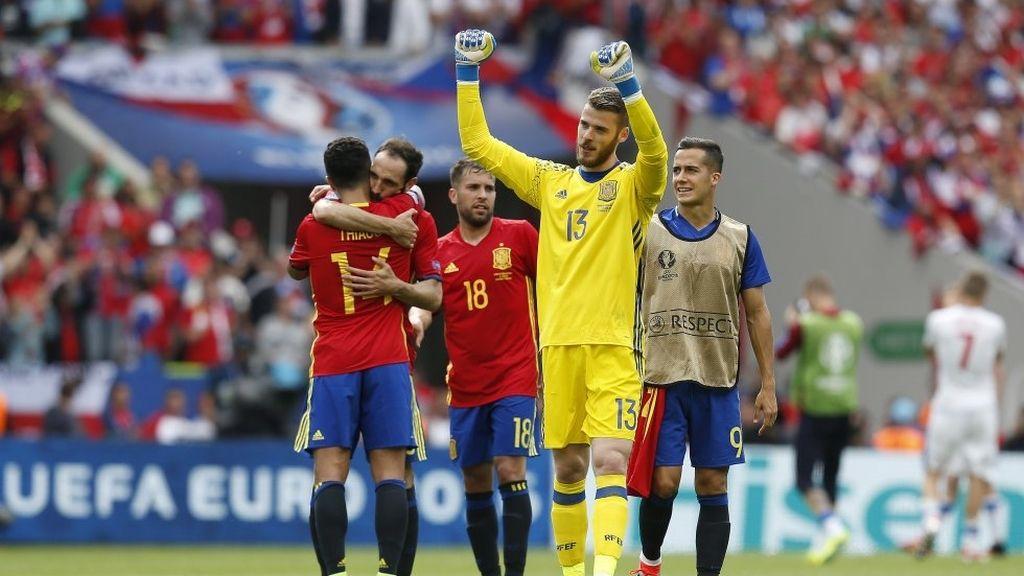 De Gea Eurocopa