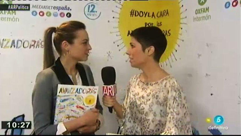Marta Nebot asiste a evento de presentación del discolibro 'Avanzadoras'