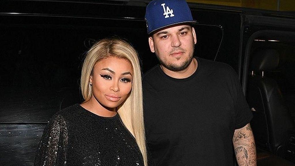 Blac Chyna y Rob Kardashian