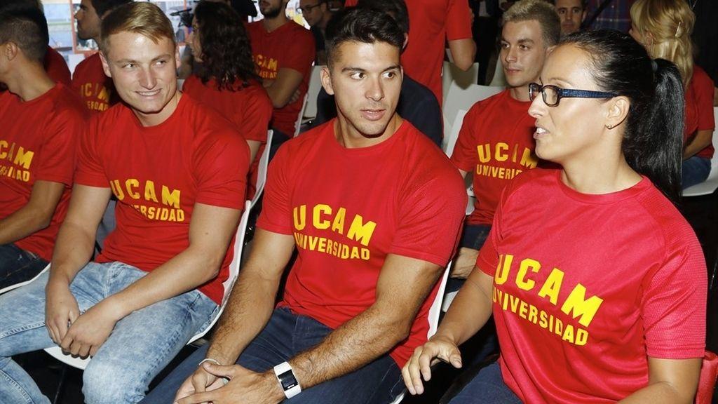 Cristian Toro en el homenaje del Comité Olímpico Español