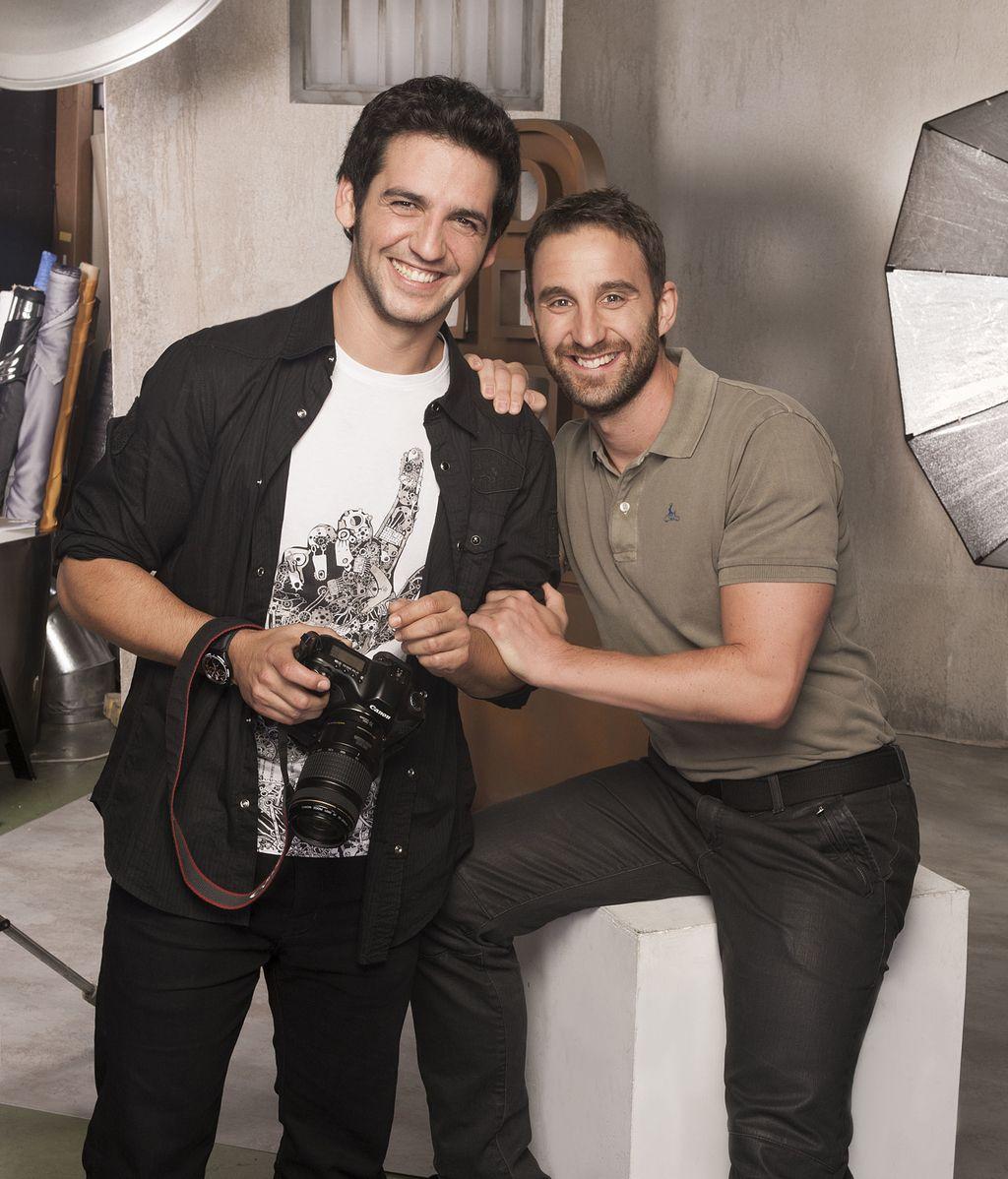 Mario (Fran Perea) y Juan (Dani Rovira), en la brecha