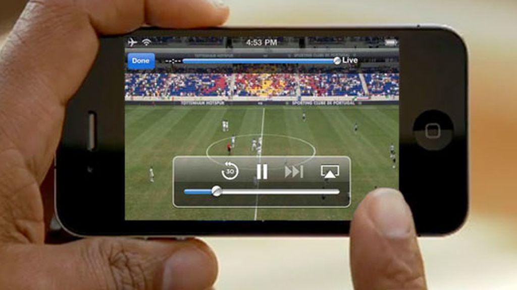 iPhone futbol
