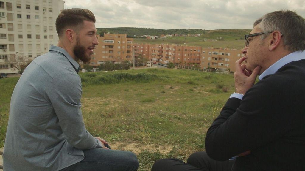 """La """"gran suerte"""" de Sergio Ramos: nacer en un barrio humilde """"donde lo tenía todo"""""""
