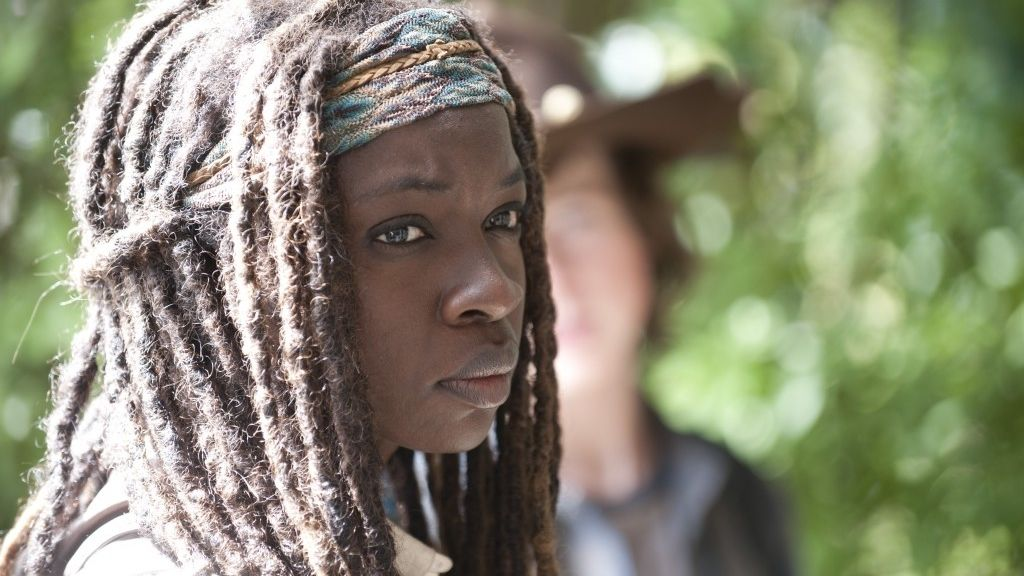Danai Gurira, Michonne en 'The walking dead'