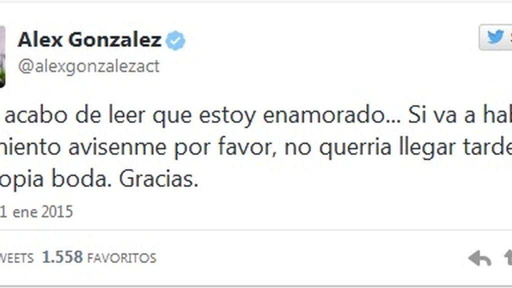 Tweet Alex González