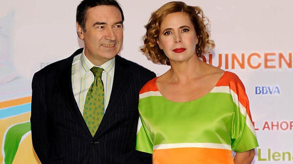 Ágatha Ruiz de la Prada y Pedro J