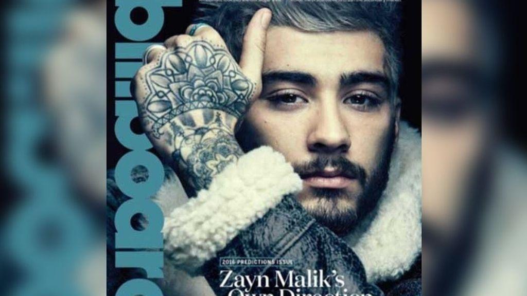 Portada de 'Billboard' con Zayn Malick