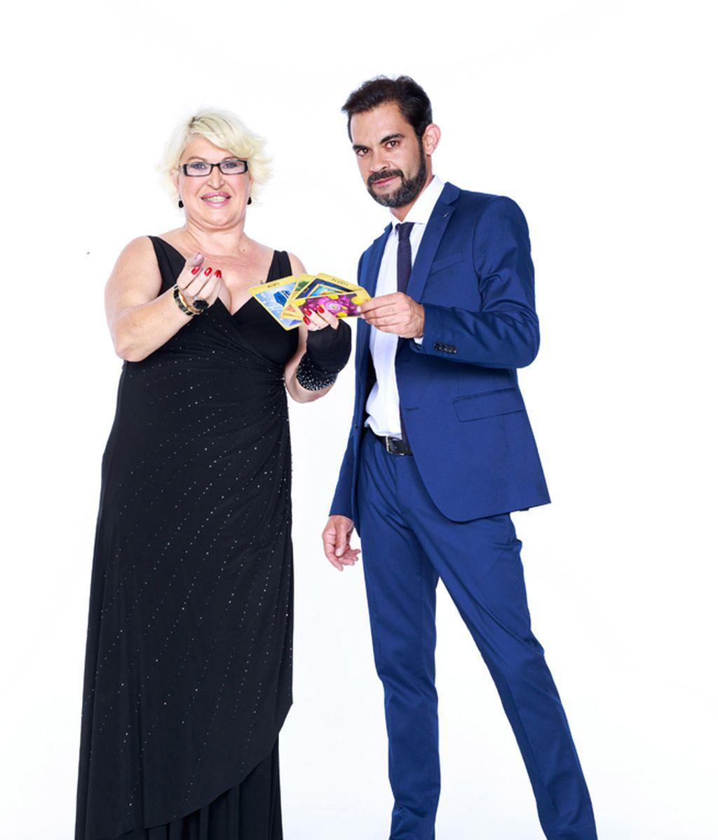 David, de 37 años, y su madre, María Rosa (Madrid)