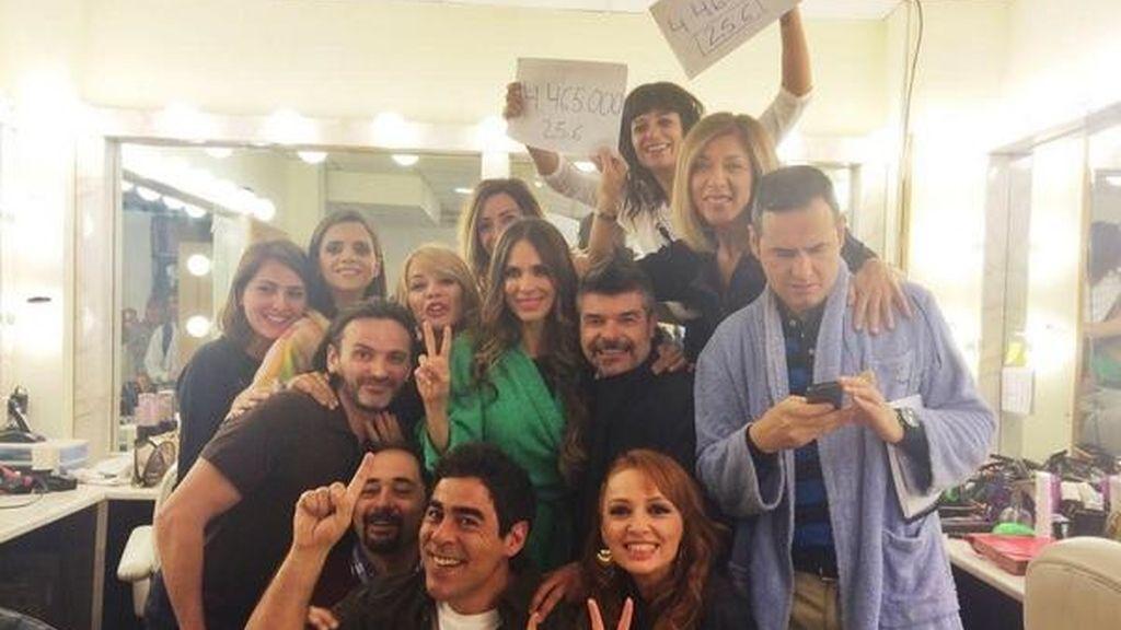Celebración actores 'La que se avecina', estreno octava temporada