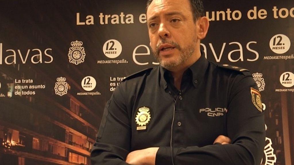 """José Nieto """"Lo más importante es la liberación de la víctima, después investigamos a la red """""""