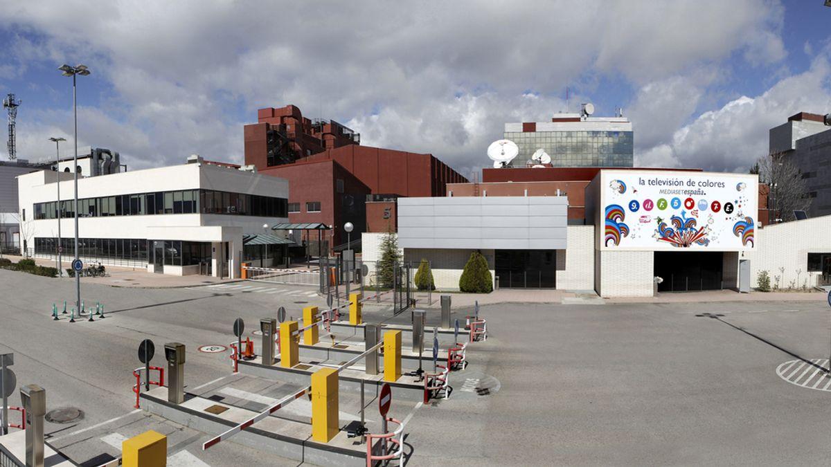 Panorámica fachada Mediaset