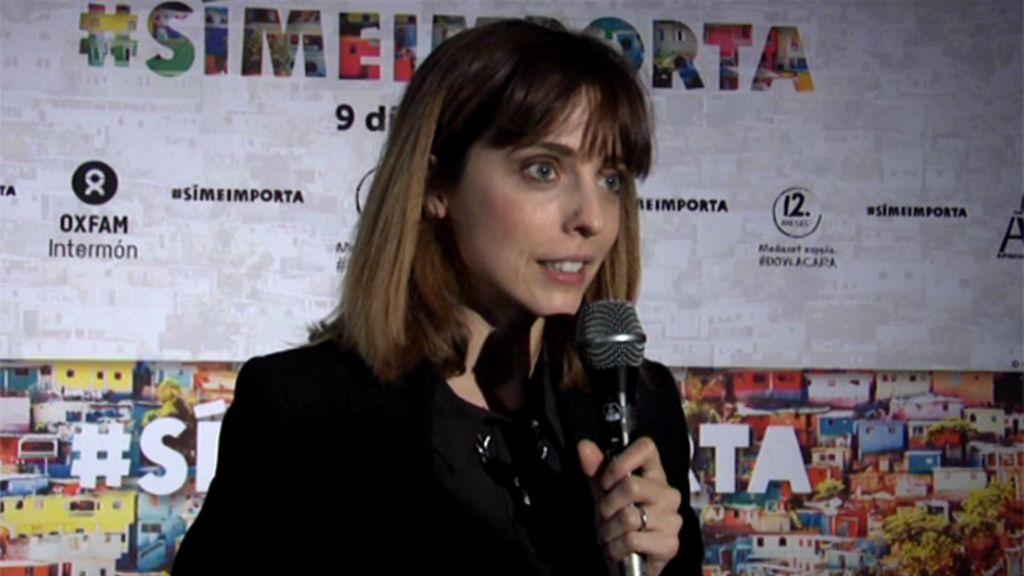 """Leticia Dolera: """"El cine es un motor de cambio social y sensibilización"""""""