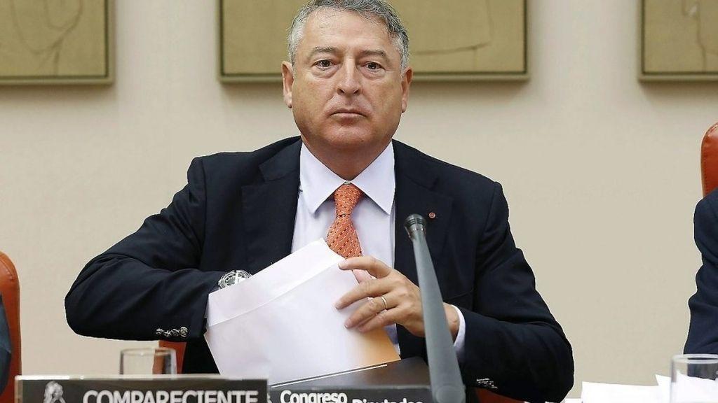 José Antonio Sánchez, presidente de RTVE, en el Congreso