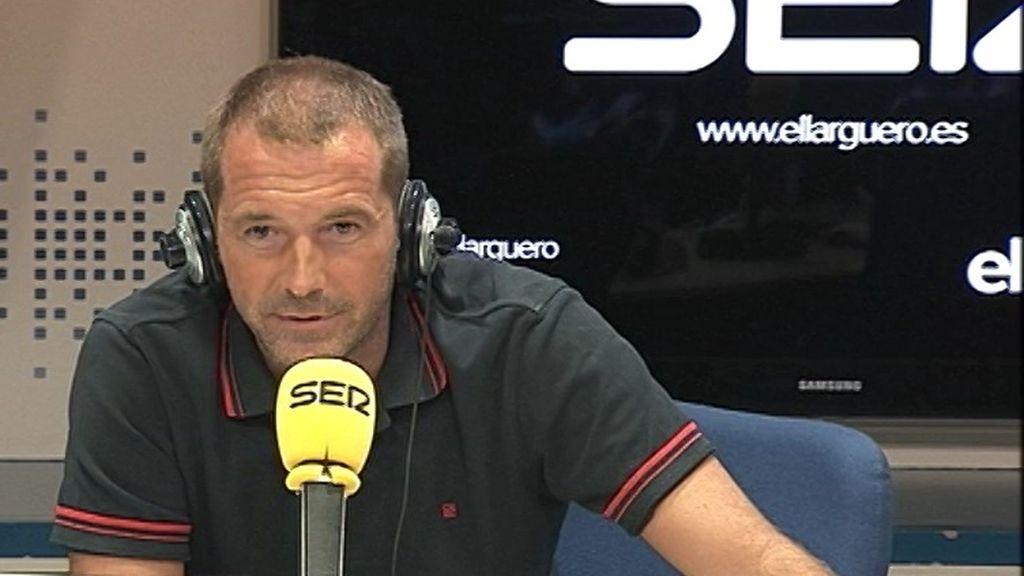 """Manu Carreño debuta en 'El larguero': """"Gracias por volver a confiar en mí"""""""