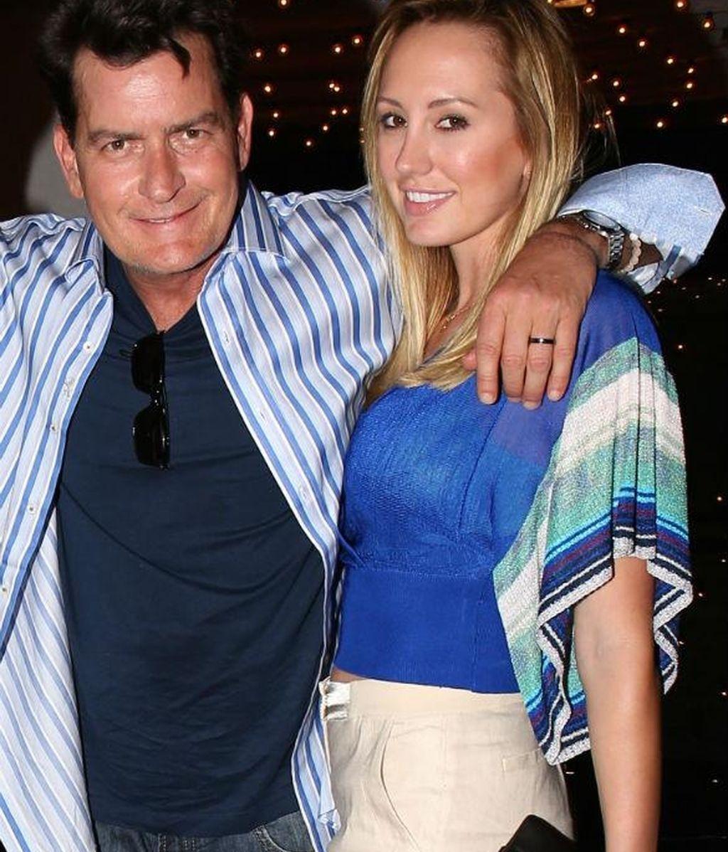 Charlie Sheen y Scottine Ross
