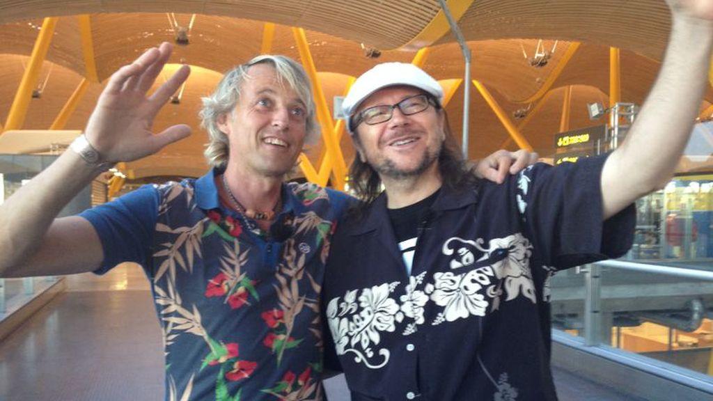 Jesús Calleja y Santiago Segura en 'Planeta Calleja', en Cuatro