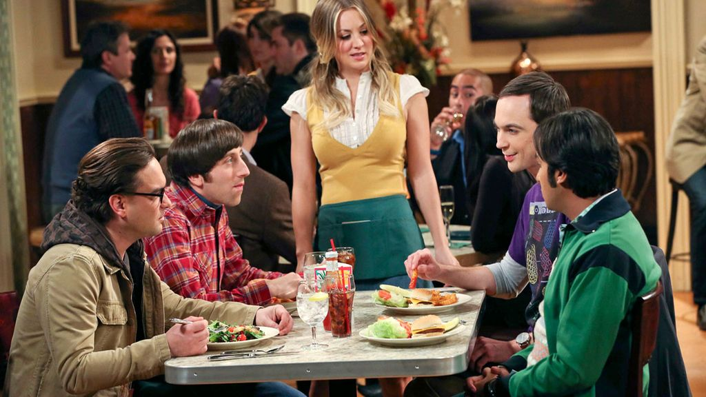 Los protagonistas de 'The big bang theory