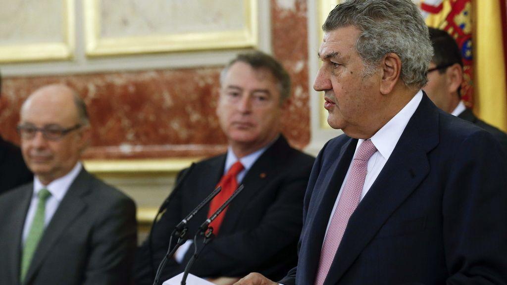 Toma de posesión de José Antonio Sánchez como presidente de RTVE