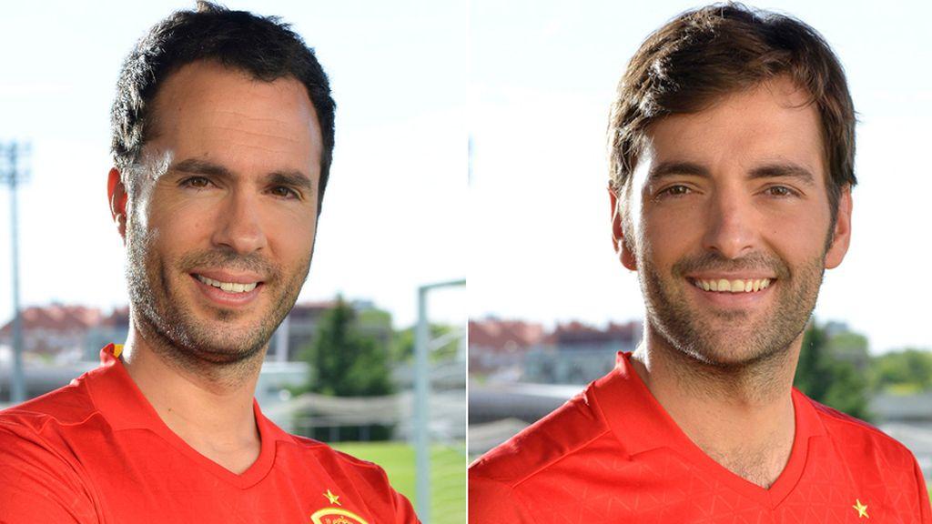 Luis García y Ricardo Reyes