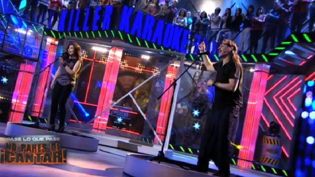 Camela ponen a prueba a los concursantes de 'Killer karaoke'