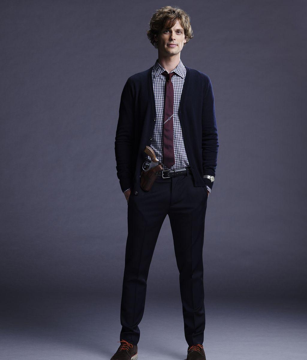 Matthew Gray Gubler es el doctor Spencer Reid en la serie 'Mentes criminales'