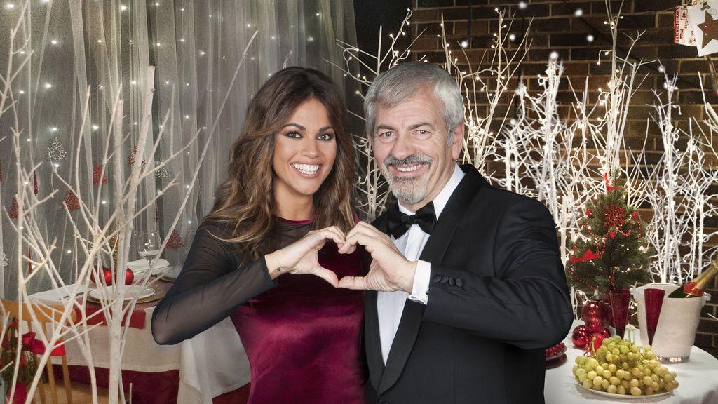 Lara Álvarez y Carlos Sobera