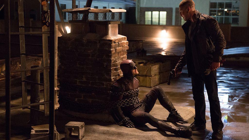 """""""La batalla definitiva"""" entre 'Daredevil' y El Castigador se resuelve en Netflix"""