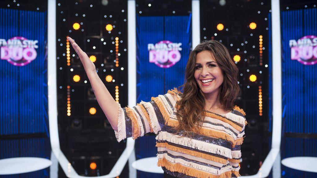 Nuria Roca, presentadora de 'Fantastic duo'