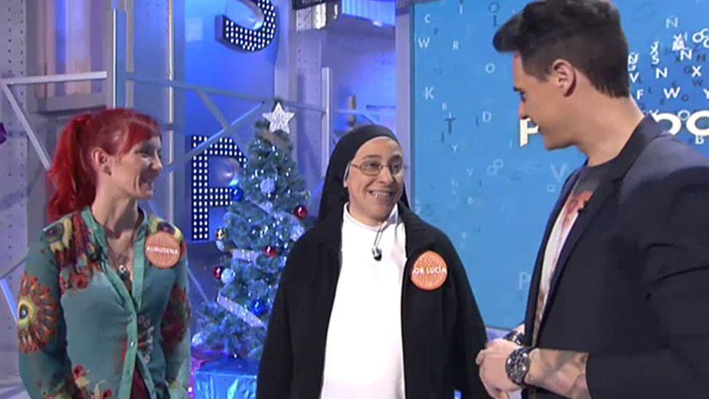 Sor Lucía visita 'Pasapalabra' con la campaña de 'Los Comprometidos'