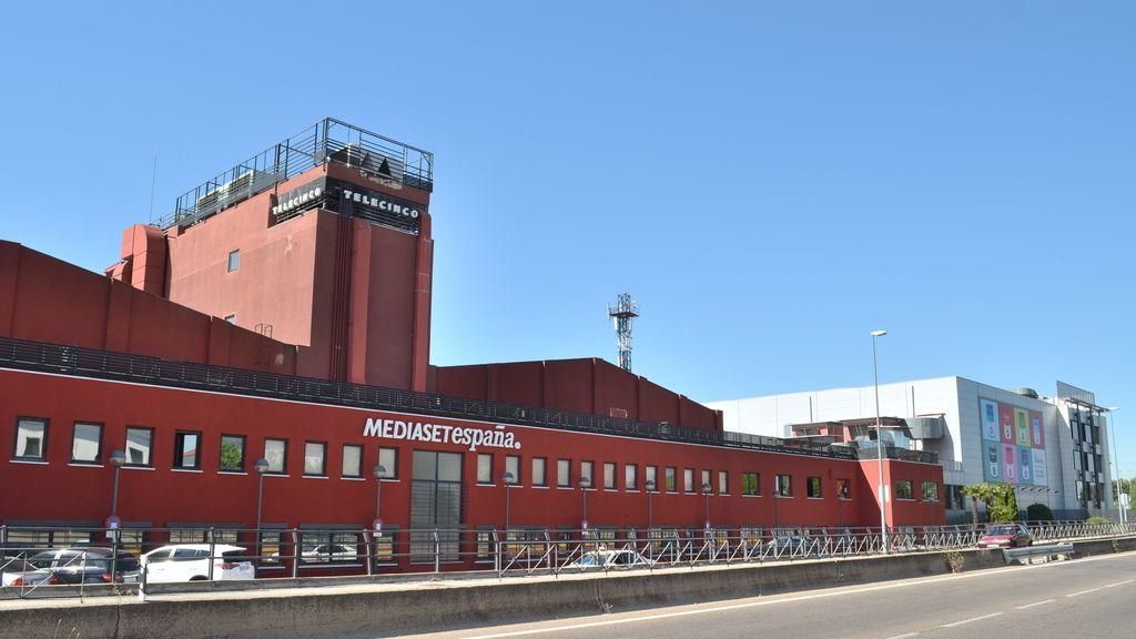 Mediaset España 2016, edificio