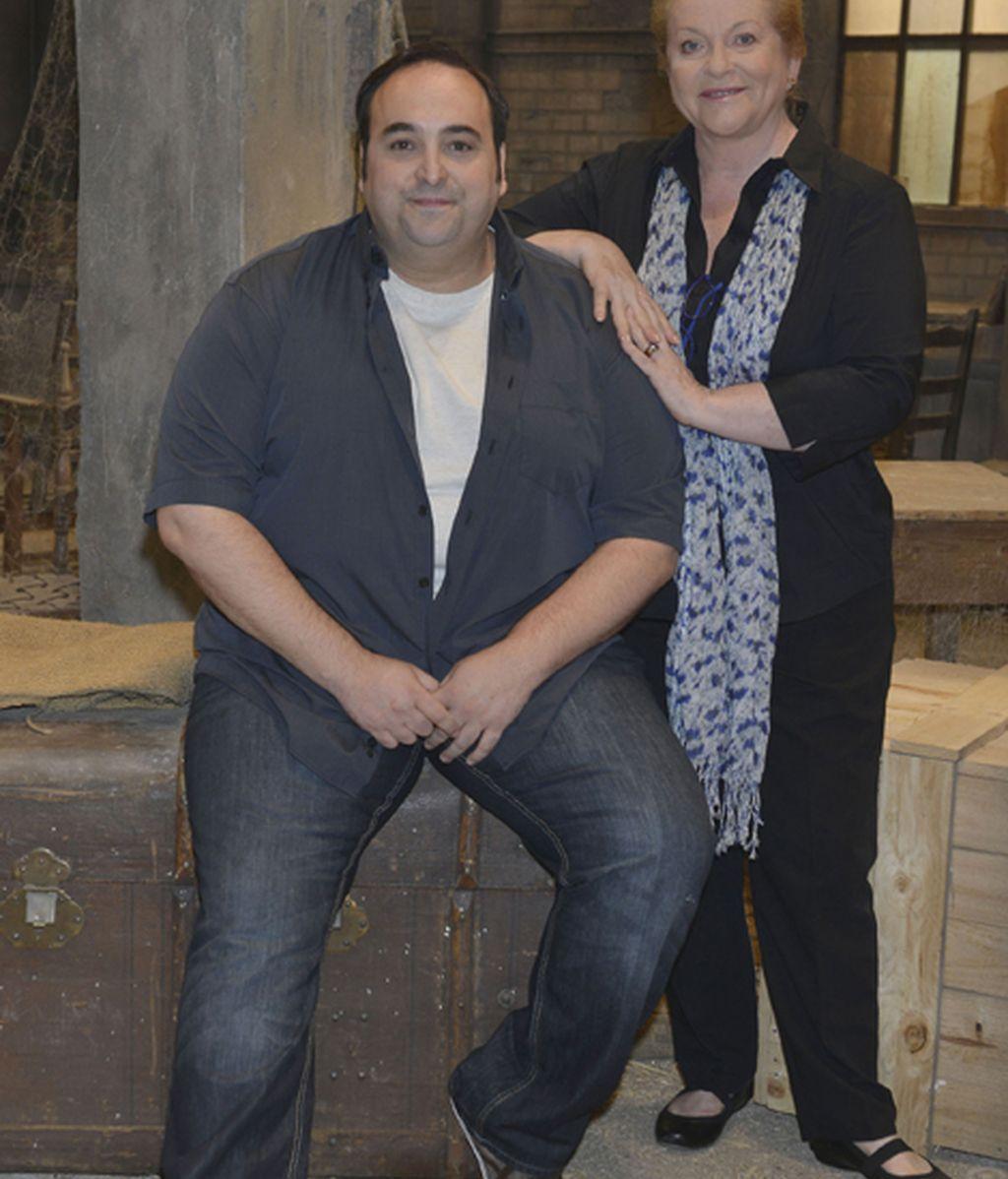 Manuel Gancedo (Carlos) y Concha Cuetos (Pilar)